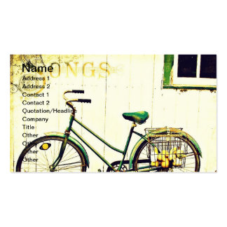Autumn Bicycle Songs Pack Of Standard Business Cards