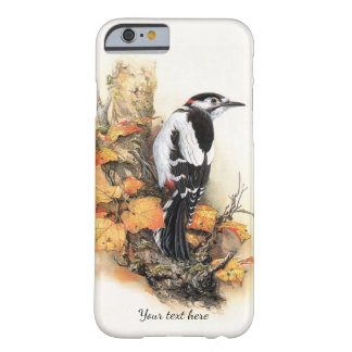 Autumn Bird and Leaves iPhone 6 Case