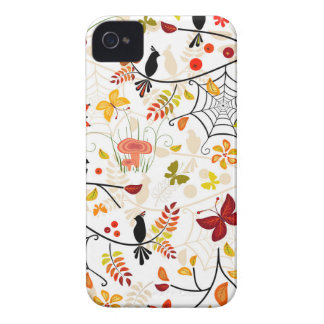 autumn birds Case-Mate iPhone 4 case