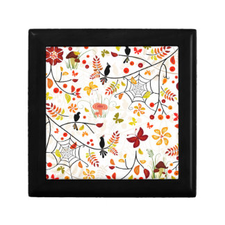 autumn birds gift box