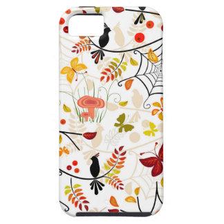 autumn birds iPhone 5 covers