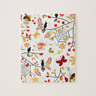 autumn birds jigsaw puzzle