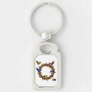 Autumn Birds Key Ring