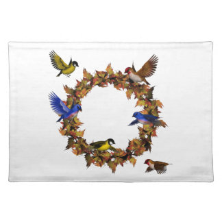 Autumn Birds Placemat