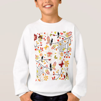 autumn birds sweatshirt