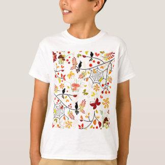 autumn birds t-shirts