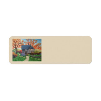 Autumn Blessings Address Label