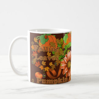 Autumn Blessings Floral Coffee Mug