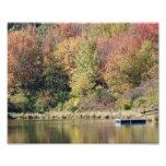 Autumn Bliss Lakeside 10x8 Photograph Print