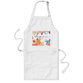"""""""Autumn Blooms"""" Kitchen Holiday Apron"""