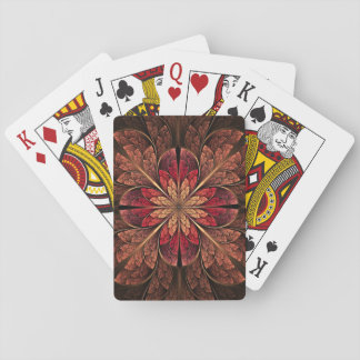 Autumn Blossom Playing Card