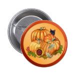 Autumn Bounty 6 Cm Round Badge
