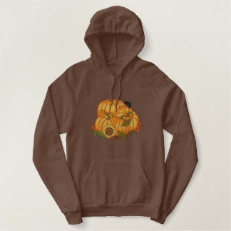 Autumn Bounty Embroidered Hoodie