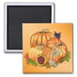 Autumn Bounty Square Magnet