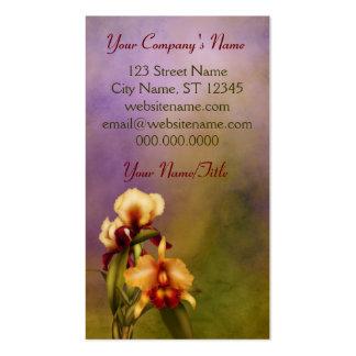 Autumn Bouquet Business Card Template