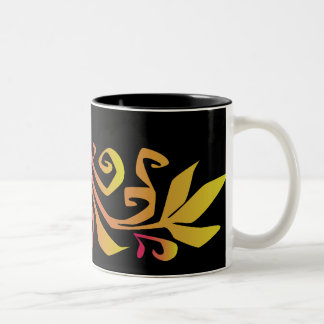 autumn branch coffee mug