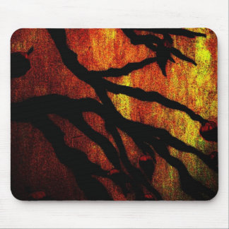 Autumn Branches Mouse Pad