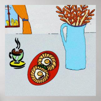 Autumn Breakfast Print