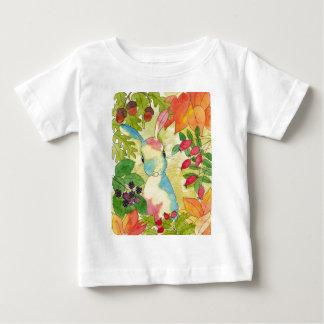 Autumn Bunny by Peppermint Art Baby T-Shirt