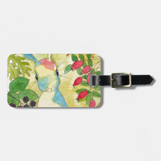 Autumn Bunny by Peppermint Art Luggage Tag