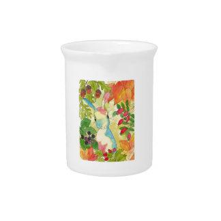 Autumn Bunny by Peppermint Art Pitcher