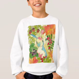 Autumn Bunny by Peppermint Art Sweatshirt