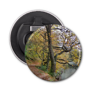 AUTUMN BY THE LAKE BOTTLE OPENER