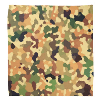 Autumn Camo Fall Colors Bandana
