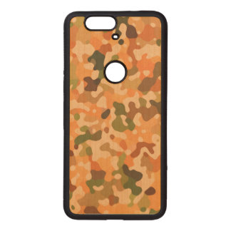 Autumn Camo Fall Colors Wood Nexus 6P Case