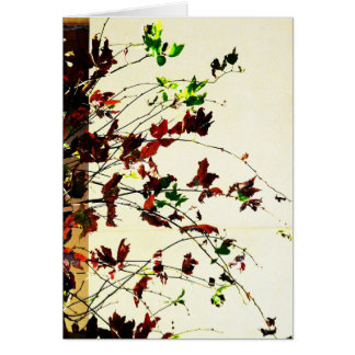 Autumn candy card
