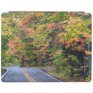 Autumn Canopy Of Color Along Highway 41 2 iPad Cover