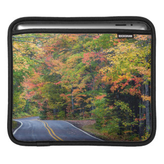Autumn Canopy Of Color Along Highway 41 2 iPad Sleeve