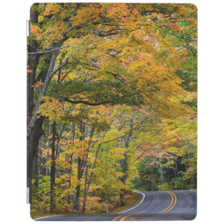 Autumn Canopy Of Color Along Highway 41 iPad Cover