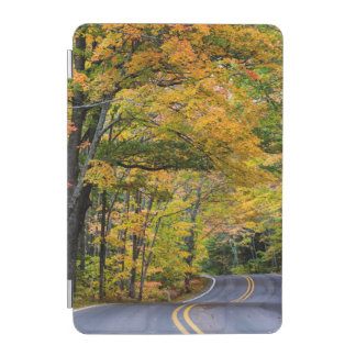 Autumn Canopy Of Color Along Highway 41 iPad Mini Cover
