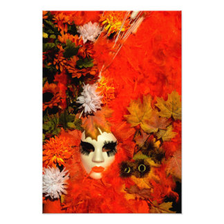 Autumn Carnival Costume Photograph