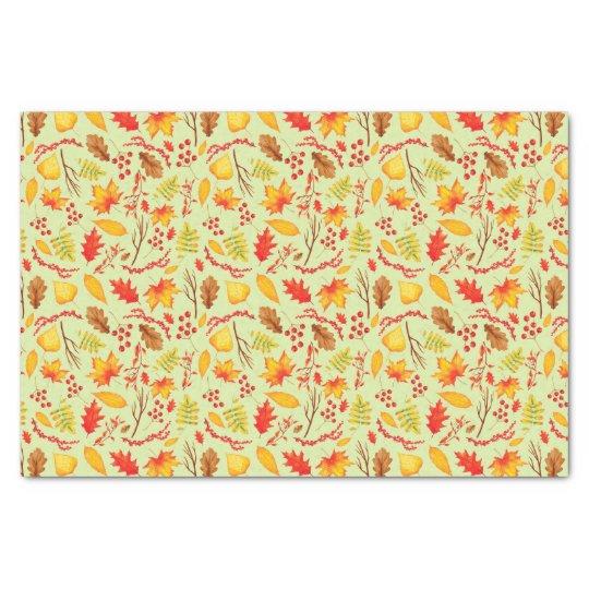 Autumn case autumn Leaves, sheets Tissue Paper