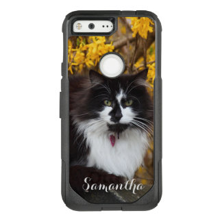 Autumn Cat Google pixel case