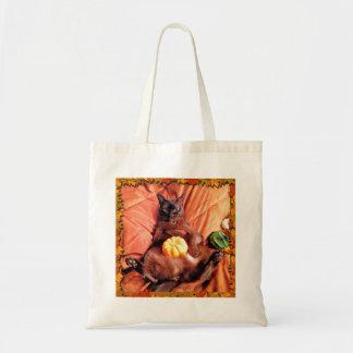 Autumn Cat II Budget Tote Bag