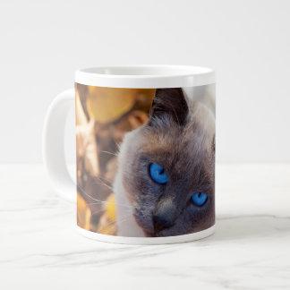 Autumn Cat Large Coffee Mug