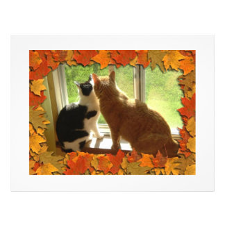 Autumn Cats Custom Flyer