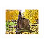 Autumn Cemetery Postcards