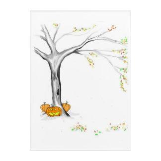 Autumn Changes Acrylic Wall Art