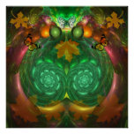 Autumn Cheer, artistic Poster