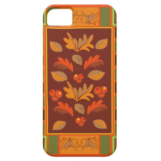 Autumn Cheer, decorative Fall iPhone 5 Case