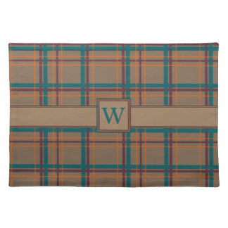 Autumn Chic Plaid Place Mat