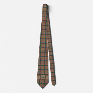 Autumn Chic Plaid Tie