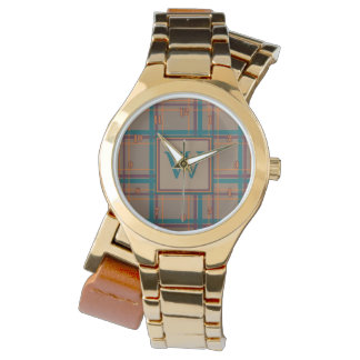 Autumn Chic Plaid Watch