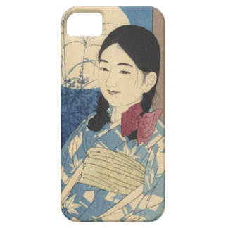 Autumn Child and Full Moon iPhone 5 Cover