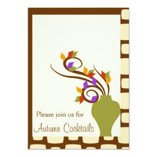 Autumn Cocktail Party Invitation