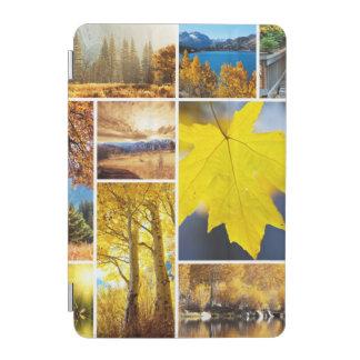 Autumn collage iPad mini cover